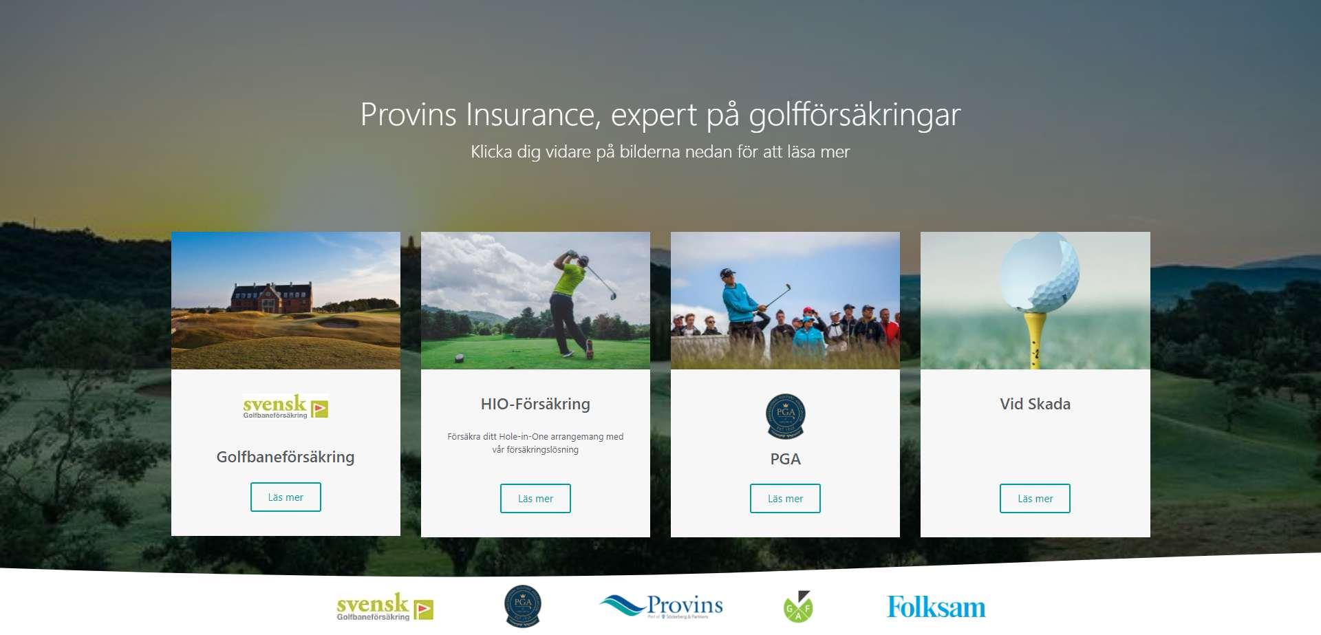 Golfförsäkringar
